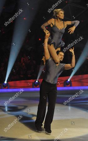 Sharron Davies and Pavel Aubrecht