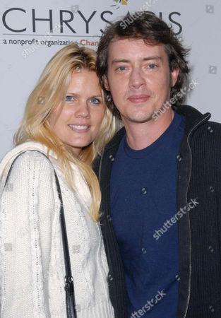 Stock Photo of Jason London and Sofia Karstens