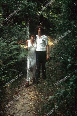 Stock Photo of PAUL GETTY III JNR AND WIFE MARTINE ZACHER