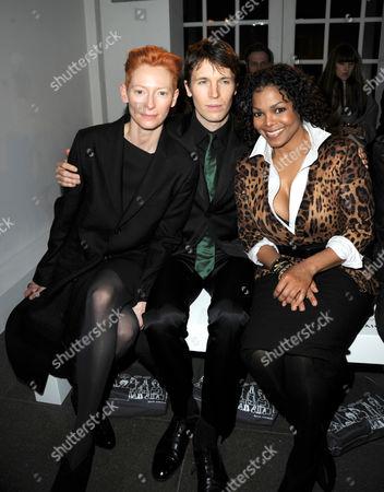 Tilda Swinton, Ryan McGinley and Janet Jackson