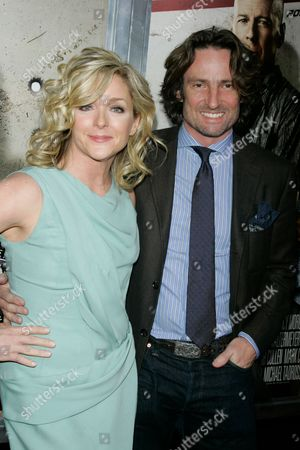 Jane Krakowski and fiance Robert Godley