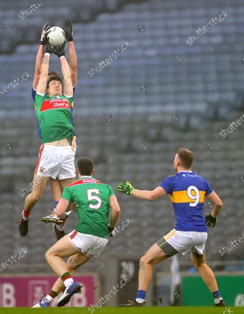 Mayo vs Tipperary. Tipperary's Steven O'Brien and Conor Loftus of Mayo