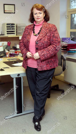 Editorial photo of Christine Pratt, founder of the National Bullying Helpline, Britain - 22 Feb 2010