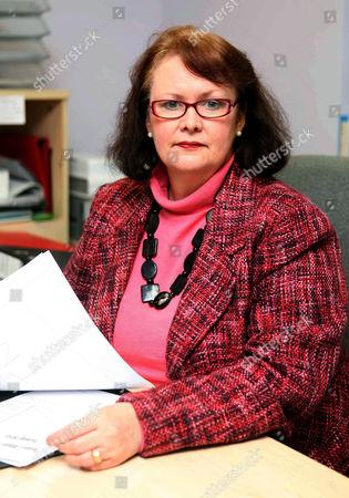 Editorial image of Christine Pratt, founder of the National Bullying Helpline, Britain - 22 Feb 2010