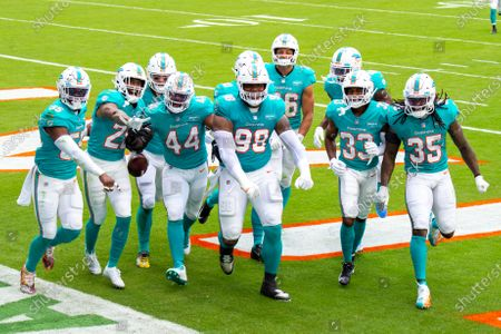 Editorial image of Bengals Dolphins Football, Miami Gardens, United States - 06 Dec 2020