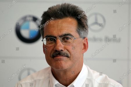 Dr. Mario Theissen (GER), BMW Motorsport Director, confirmed that BMW would enter the DTM from 2012. DTM, Rd9, Hockenheim, Germany, 15-17 October 2010. World Copyright: LAT Photographic