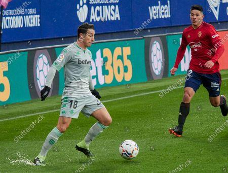 Editorial photo of Soccer: La Liga - Osasuna v Real Betis, Pamplona, Navarra, Spain - 06 Dec 2020