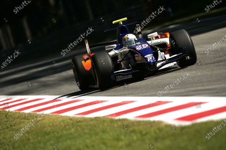 Autodromo di Monza, Monza, Italy. 10th September. Friday Practice. Adrian Zaugg (RSA, Trident Racing). Action. Photo: Drew Gibson/GP2 Media Service. Ref: __Y2Z8270 jpg