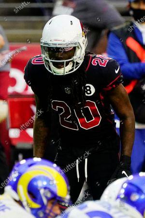 Arizona Cardinals cornerback Dre Kirkpatrick (20) during an NFL football game against the Los Angeles Rams, in Glendale, Ariz
