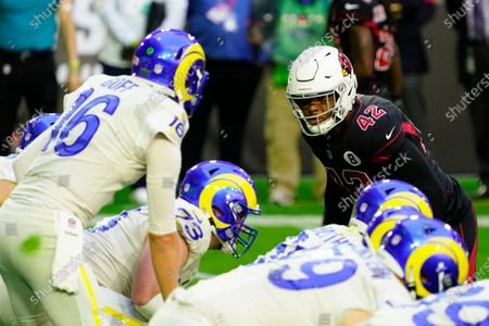 Arizona Cardinals outside linebacker Devon Kennard (42) during an NFL football game against the Los Angeles Rams, in Glendale, Ariz