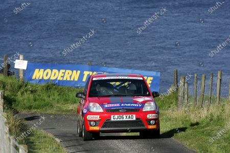 Rally Northern Ireland. 20th - 21st August 2010. Alex Laffey/Peter Martin - Ford Fiesta . World Copyright: Ebrey/LAT Photographic.