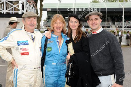 Goodwood , West Sussex, , England 18th - 28th September 2009.  Nick, Annette and Holly Mason with Marino Franchitti. World Copyright: Jeff Bloxham/LAT Photographic Ref: Digital Image Only