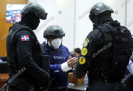 Editorial photo of Hearing in the case against Alexis Medina for alleged corruption, in Dominican Republic, Santo Domingo - 06 Dec 2020