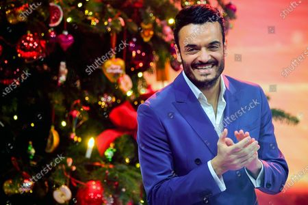 Italian singer Giovanni Zarrella attends the 'Ein Herz Fuer Kinder' (lit: A Heart for Children) gala show in Berlin, Germany, 05 December 2020. German television channel ZDF and newspaper 'Bild' collected donations for children's charity organizations in Germany and the whole world.