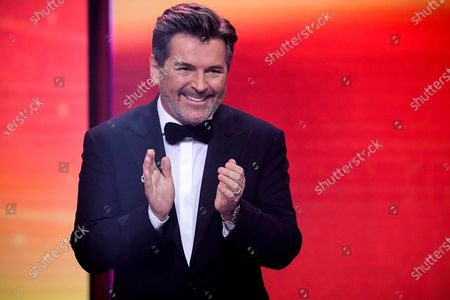 German musician Thomas Anders attends the 'Ein Herz Fuer Kinder' (lit: A Heart for Children) gala show in Berlin, Germany, 05 December 2020. German television channel ZDF and newspaper 'Bild' collected donations for children's charity organizations in Germany and the whole world.