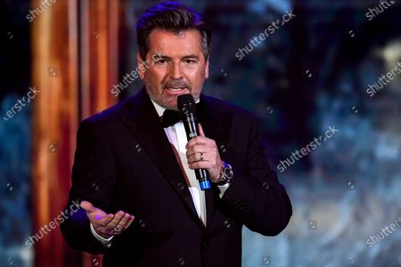 Stock Picture of German musician Thomas Anders performs on stage during the 'Ein Herz Fuer Kinder' (lit: A Heart for Children) gala show in Berlin, Germany, 05 December 2020. German television channel ZDF and newspaper 'Bild' collected donations for children's charity organizations in Germany and the whole world.