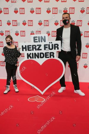 "BERLIN, GERMANY - DECEMBER 05: Wladimir Klitschko arrives for the ""Ein Herz Fuer Kinder"" Gala at Studio Berlin Adlershof on December 05, 2020 in Berlin, Germany. (Photo by Gisela Schober/Getty Images)"