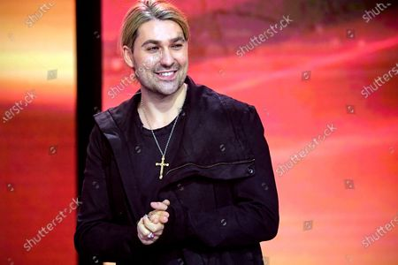German violinist David Garrett attends the 'Ein Herz Fuer Kinder' (lit: A Heart for Children) gala show in Berlin, Germany, 05 December 2020. German television channel ZDF and newspaper 'Bild' collected donations for children's charity organizations in Germany and the whole world.