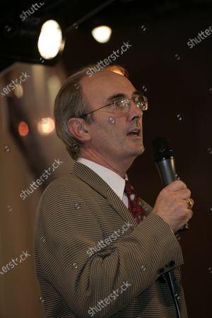 2008 Autosport International Show - Friday NEC, Birmingham. 11th January 2008. Don McPherson on stage. POrtrait. World Copyright: Gary Hawkins/LAT Photographic