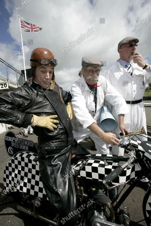 2007 Goodwood Revival Press Day.  Goodwood, West Sussex. 18th July 2007.  George Formby and Crew. World Copyright: Gary Hawkins/LAT Photographic.  Ref: Digital Image Only.