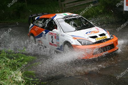 2007 British Rally Championship, Manx International Rally, 19th-21st July 2007, Eamon Boland Ford Focus World Copyright: Ebrey/LAT Photographic.