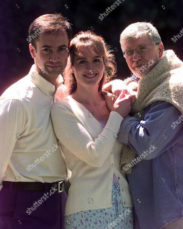 Photocall For The Kings Head Theatre Production Of Bless The Bride Picture Shows; (l-r) Jack Rebaldi Tiffany Edwards And Director Martin Charnin.