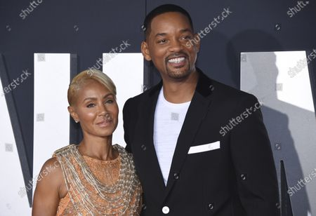 "Stock Picture of Jada Pinkett Smith, left, and her husband Will Smith attend the premiere of ""Gemini Man"" in Los Angeles. Pinkett Smith has admitted to having a relationship with musician August Alsina when she and her husband were separated. In a conversation on her series ""Red Table Talk,"" she said she was reluctantly discussing Alsina's comments because of the public speculation they provoked. Will Smith appeared on the show to discuss the chapter in their lives"
