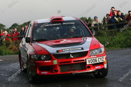 2007 British Rally Championship, Ulster Rally, Northern Ireland, 31st August/1st September 2007, Julian Reynolds, World Copyright: Ebrey/LAT Photographic