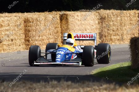 Goodwood Estate, West Sussex. 30th June - 3rd July 2011 A Williams Renault FW-15C on heads up the hill. Action. World Copyright: Lord Hutton/LAT Photographic
