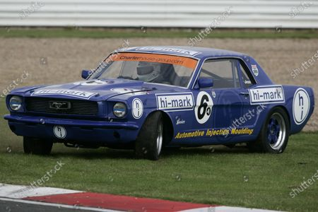 Stock Picture of 2007 Heritage Grand Touring Car Challenge,. Silverstone, England. 11th and 12th August 2007. Jess Yates/Scarborough Ford Mustang, World Copyright: Jakob Ebrey/LAT Photographic.