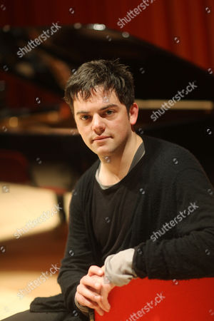 The Britten Sinfonia at Lunch perform at The West Road College Hall in Cambridge - Composer, Nico Muhly