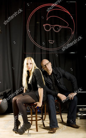 Ella Edmondson and father Adrian Edmondson at the Band on the Wall club in Manchester