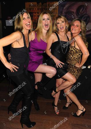 L-R:  Jennifer Gilbert, Alex McCord, Ramona Singer, Sonja Morgan