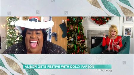 Alison Hammond and Dolly Parton