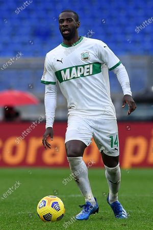 Pedro Obiang of Sassuolo, Roma v Sassuolo, Serie A