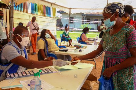Editorial picture of Presidential and parliamentary elections in Ghana, Kyebi - 07 Dec 2020
