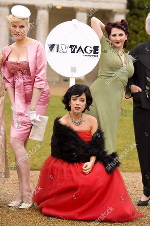 Lily Allen and Sara Stockbridge and Kitten von Mew