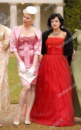 Lily Allen and Sara Stockbridge