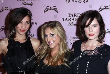 Cassie Scerbo and Chelsea Hobbs and Guest