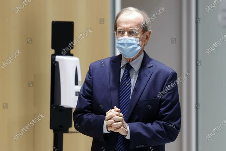 French former Paris' Police Prefect Michel Gaudin at the court during his trial in Paris, France, 07 December 2020. In 2013, Nicolas Sarkozy used a false name to make phone calls to his lawyer Thierry Herzog about the pending decision of the Court of Cassation regarding the seizure of presidential diaries in a separate case. The trial is due to run from 23 November to 10 December 2020.