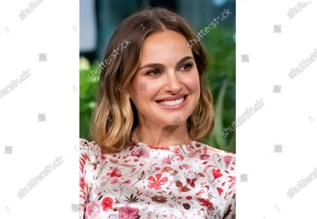 """Stock Photo of Natalie Portman participates in the BUILD Speaker Series to discuss the film """"Lucy in the Sky"""", in New York.The Oscar-winning actress has agreed to serve as honorary chair of National Library Week, the American Library Association announced Monday. National Library Week will run next April 4-10, and Portman will help promote the role libraries have played in their communities during the pandemic"""