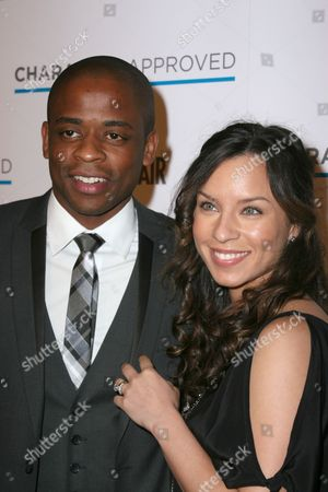 Dule Hill with wife, Nicole Lyn
