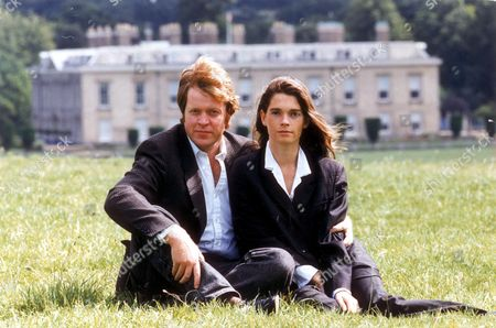Earl And Countess Spencer The Former Victoria Lockwood At Althorp House. Divorced December 1997.