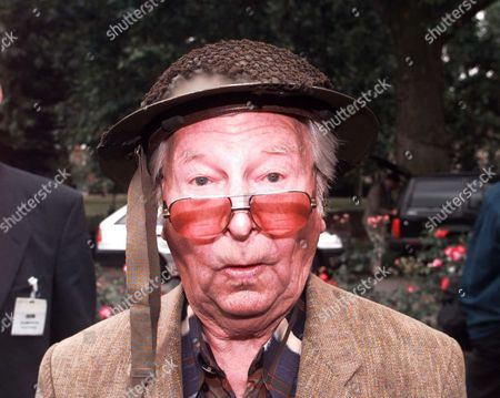 Celebrations For 30 Years Of Television Programme Dad's Army At The Imperial War Museum London Se11. Picture Shows Actor Clive Dunn Who Played Lance Corporal Jones.