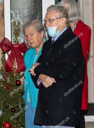 Len Gardner, 85 and his wife Shirley 84