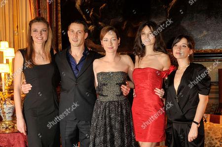 Christiane Filangeri, David Rott, Cristiana Capotondi, Kasty Saunders, Federica De Cola