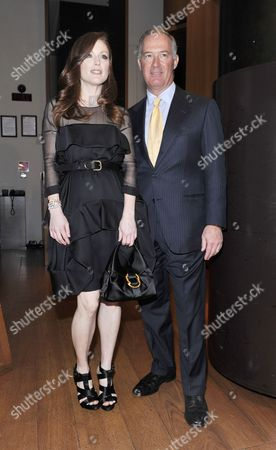 Julianne Moore and Francesco Trapani