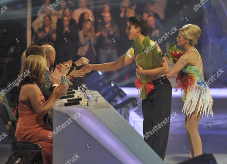 Editorial picture of 'Dancing on Ice' TV Programme, Elstree Studios, Borehamwood, Britain  - 28 Feb 2010