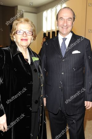 Wanda Ferragamo and Michele Norsa