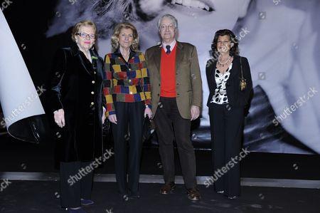 Wanda Ferragamo, Giovanna Gentile Ferragamo, guest and Fulvia Visconti Ferragamo